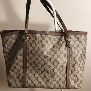 Gucci supreme tote bag